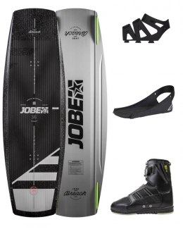 DESKA WAKEBOARD+ buty JOBE- Breach Wakeboard 143 & Drift Bindings Set