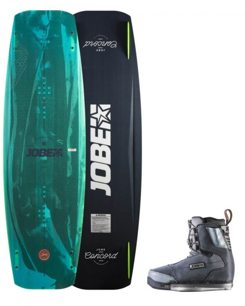 DESKA WAKEBOARD+ buty JOBE- Concord Wakeboard 145 & Charge Bindings Set
