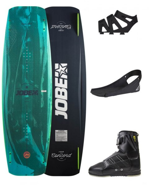 DESKA WAKEBOARD+ buty JOBE- Concord Wakeboard 145 & Drift Bindings Set