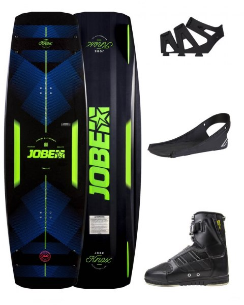DESKA WAKEBOARD+ buty JOBE- Knox Wakeboard 139 & Drift Bindings Set
