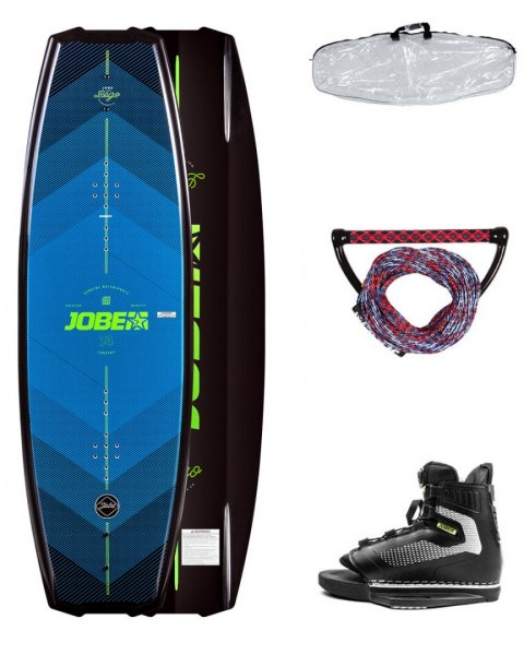 DESKA WAKEBOARD+ buty JOBE- Logo Wakeboard 138 & Unit Bindings Package
