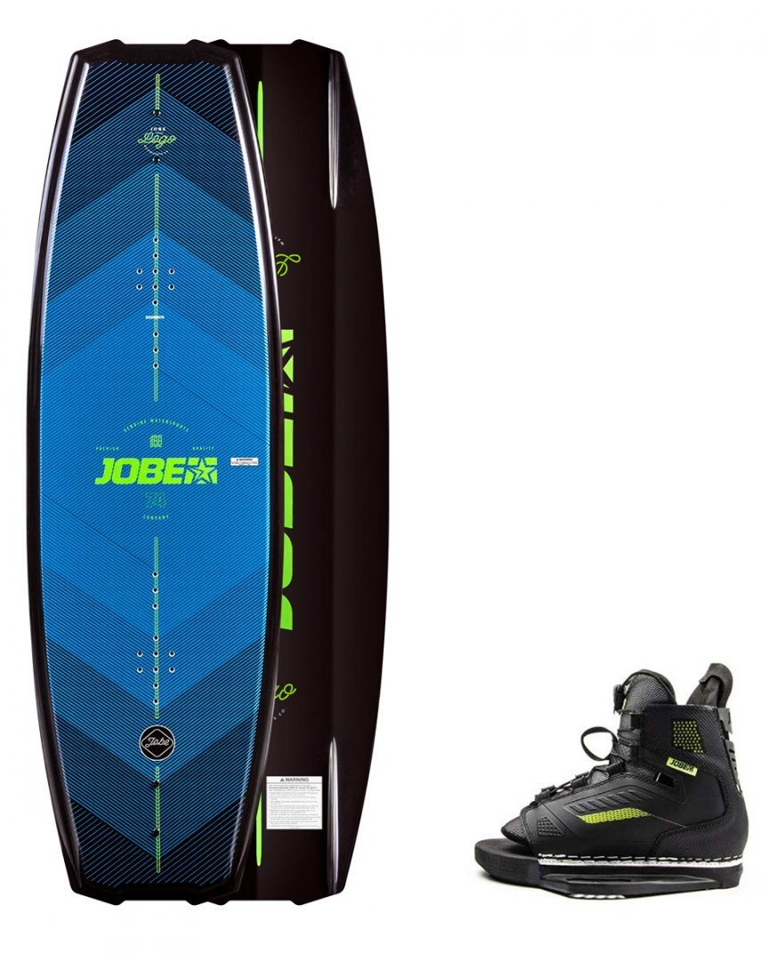 DESKA WAKEBOARD+ buty JOBE- Logo Wakeboard 138 & Unit Bindings Set