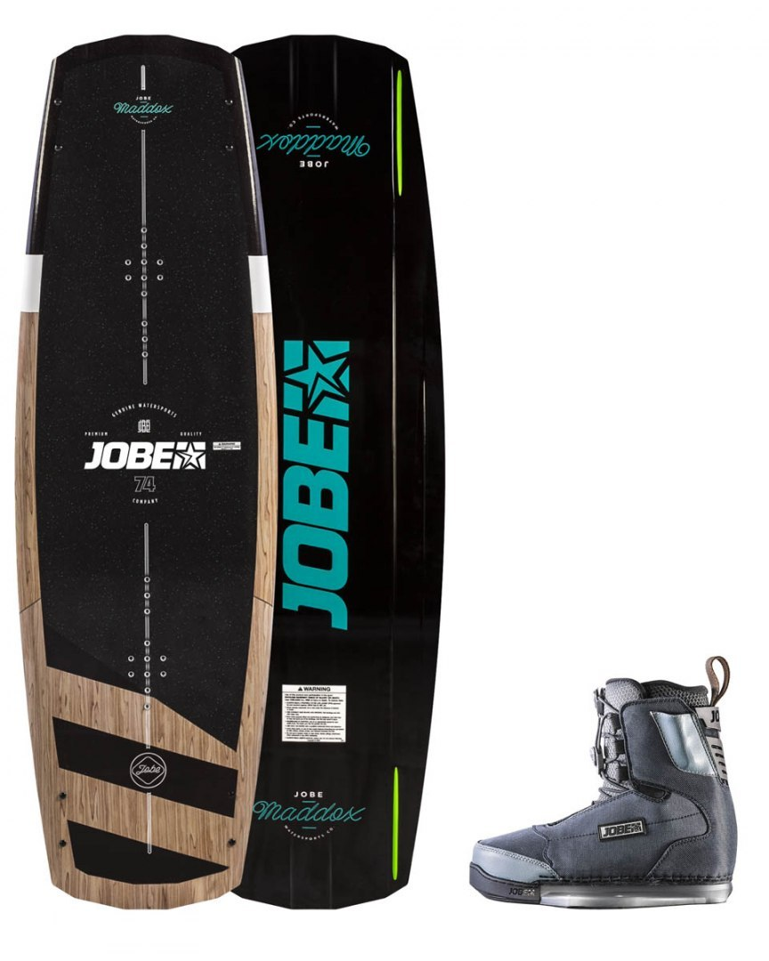 DESKA WAKEBOARD+ buty JOBE- Maddox Wakeboard 142 & Charge Bindings Set