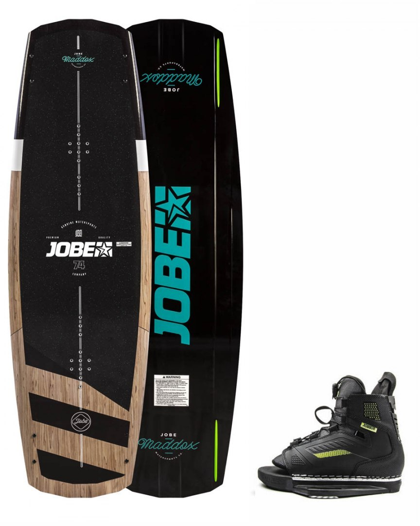 DESKA WAKEBOARD+ buty JOBE- Maddox Wakeboard 142 & Unit Bindings Set