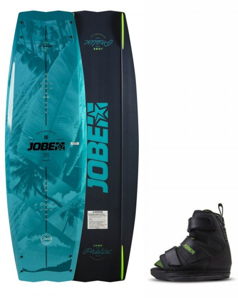 DESKA WAKEBOARD+ buty JOBE- Prolix Wakeboard 138 & Host Bindings Set