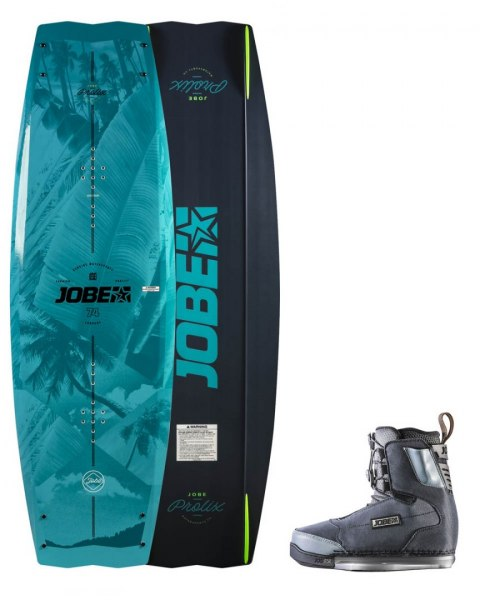 DESKA WAKEBOARD+ buty JOBE- Prolix Wakeboard 143 & Charge Bindings Set