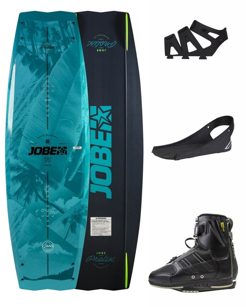 DESKA WAKEBOARD+ buty JOBE- Prolix Wakeboard 143 & Drift Bindings Set