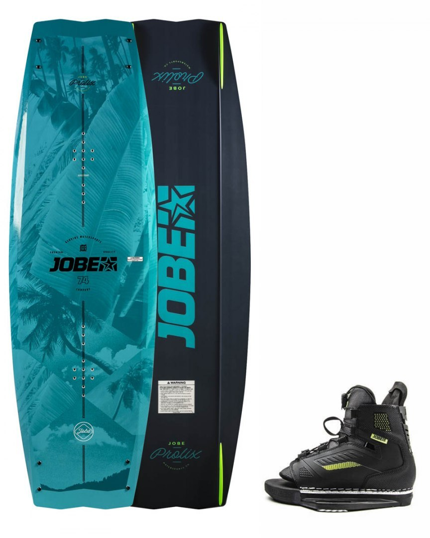 DESKA WAKEBOARD+ buty JOBE- Prolix Wakeboard 143 & Unit Bindings Set