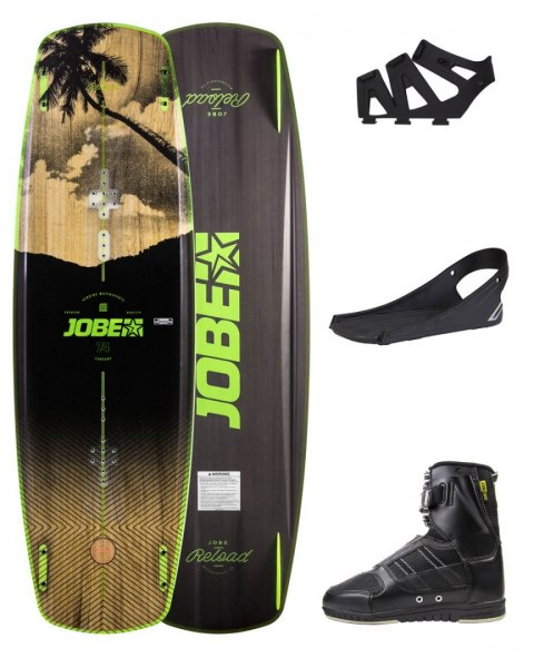 DESKA WAKEBOARD+ buty JOBE- Reload Wakeboard 144 & Drift Bindings Set
