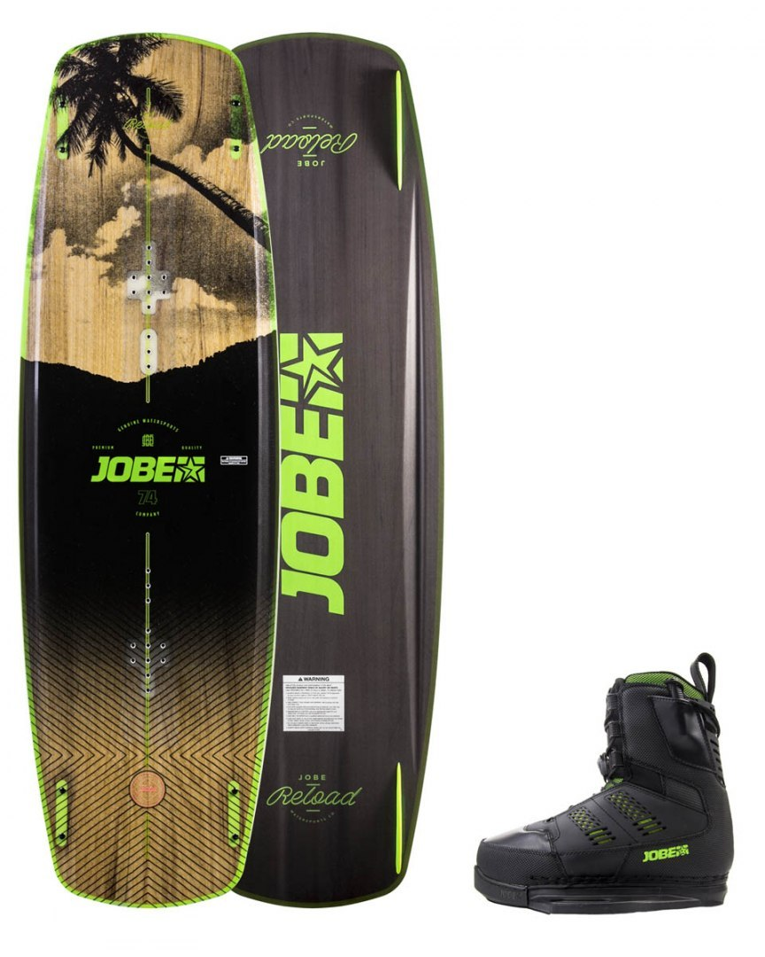 DESKA WAKEBOARD+ buty JOBE- Reload Wakeboard 147 & Nitro Bindings Set