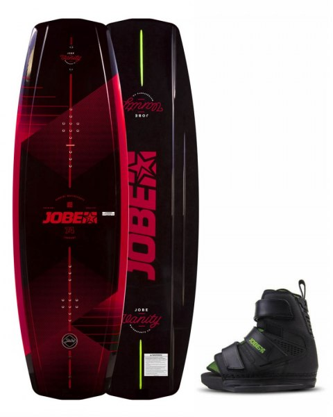 DESKA WAKEBOARD+ buty JOBE- Vanity Wakeboard 136 & Host Bindings Set