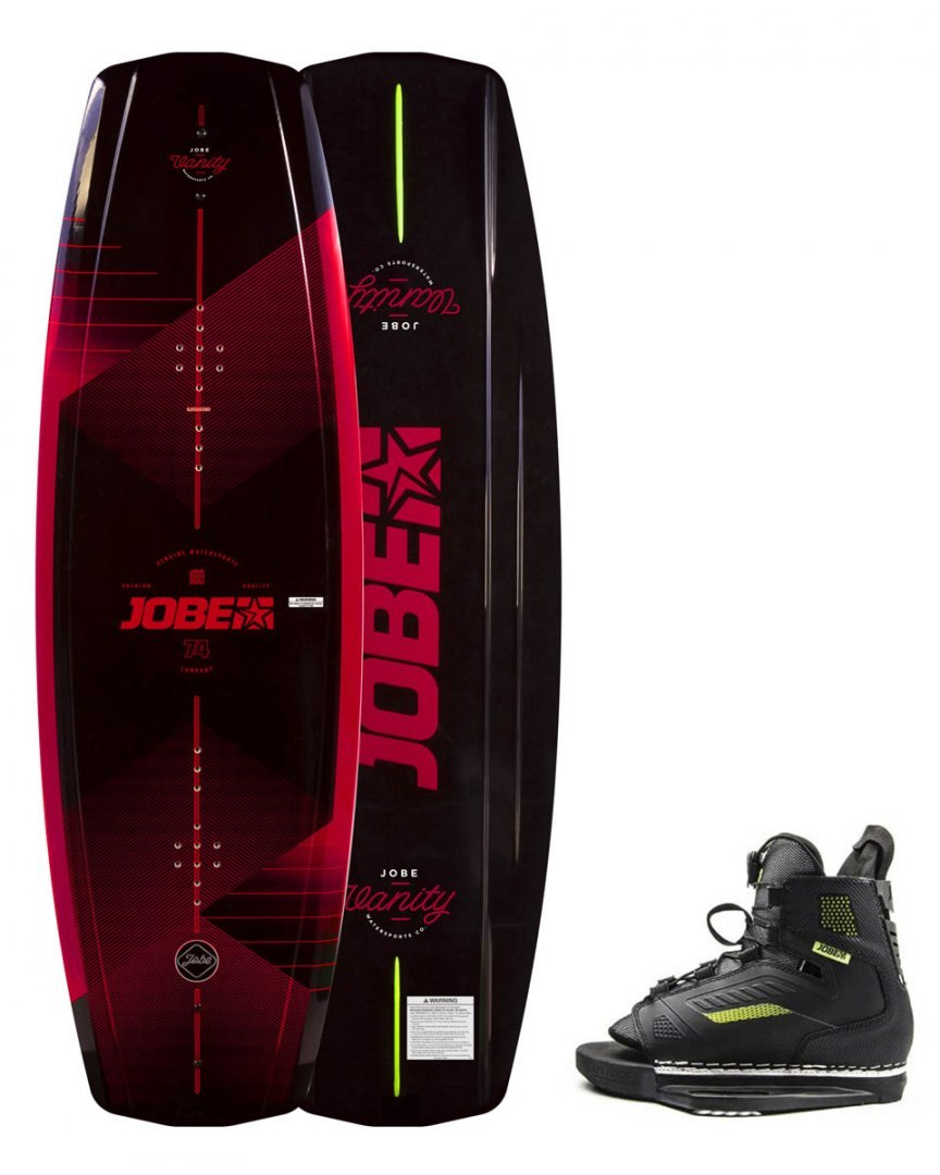 DESKA WAKEBOARD+ buty JOBE- Vanity Wakeboard 141 & Unit Bindings Set