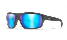 Okulary CONTEND Captivate Polarized Blue Mirror Smoke Grey Matta Graphite Frame