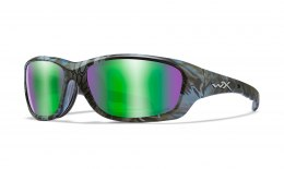 Okulary GRAVITY Captivate Polarized Green Mirror, KRYPTEK Neptune Frame