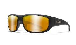 Okulary OMEGA Captivate Polarized Bronze Mirror Copper, Matte Black Frame