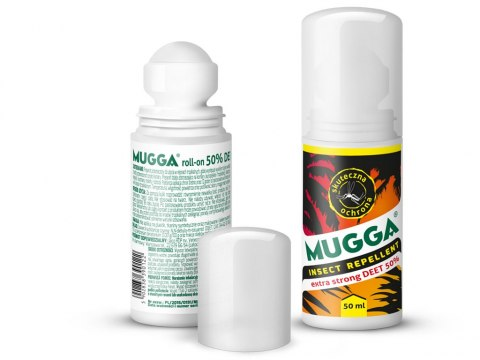 Mugga Roll on DEET 50% na komary i kleszcze 50ml