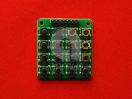 Klawiatura switch 4x4 Matrix Arduino