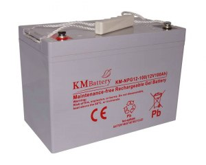 Akumulator Żelowy KM Battery 100Ah 12V NPG100 ŻEL