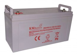 Akumulator Żelowy KM Battery 130Ah 12V NPG130 ŻEL