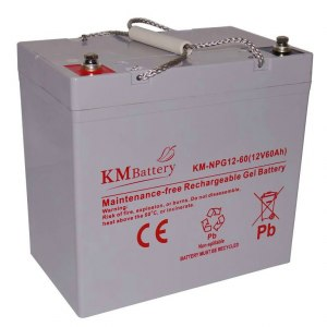 Akumulator Żelowy KM Battery 60Ah 12V NPG60 ŻEL