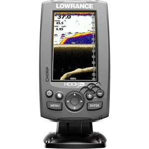 Echosonda LOWRANCE HOOK-4X MID/HIGH/DOWNSCAN
