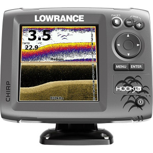 Echosonda LOWRANCE HOOK-5X MID/HIGH/DOWNSCAN