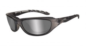 Okulary AIRRAGE Polarized Grey Silver Flash, Crystal Metallic Frame