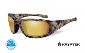 Okulary BOSS Polarized Amber Gold Mirror, Kryptek® Highlander® Frame