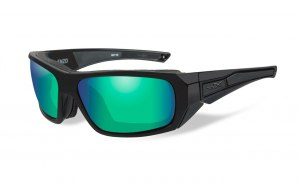 Okulary ENZO Polarized Emerald Mirror Gloss, Black Frame