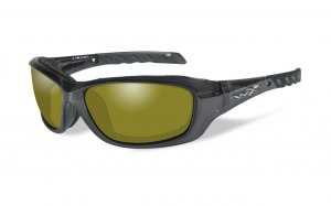 Okulary GRAVITY CCGRA11 Polarized Yellow, Black Crystal Frame