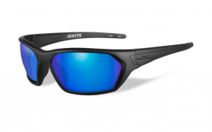 Okulary IGNITE ACIGN09 Polarized Blue Mirror Green Lenses, Matte Black Frame