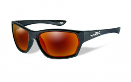 Okulary Wiley X MOXY SSMOX05 Polarized Crimson Mirror, Gloss Black Frame