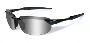 Okulary TOBI ACTOB04 Polarized Grey Silver Flash, Gloss Black Frame