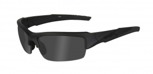 Okulary VALOR CHVAL08 Polarized Smoke Grey, Matte Black Frame