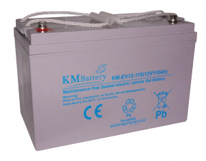 Akumulator KM Battery 110 Ah 12V KM-EV12-110