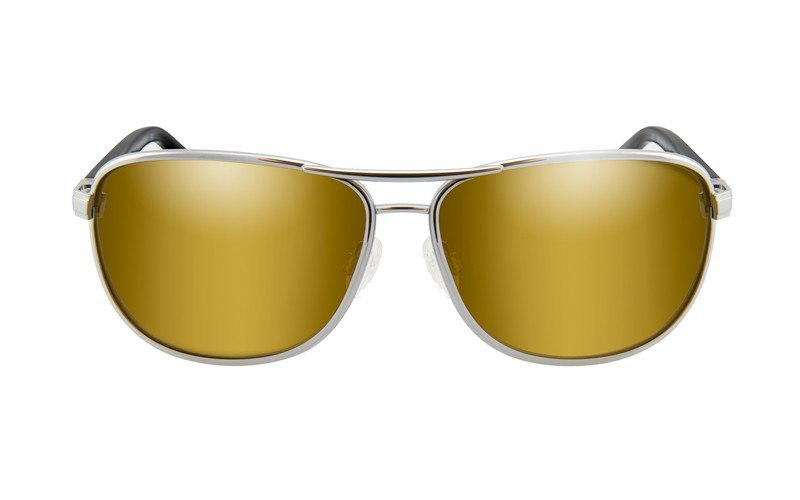 Okulary Wiley X ACKLE04 KLEIN Polarized Gold Mirror Amber Lens Frame Gunmetal Frame