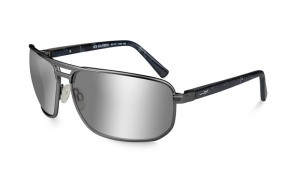 Okulary HAYDEN ACHAY06 Polarized Silver Flash Smoke Grey Lens Matte Dark Gunmetal Frame