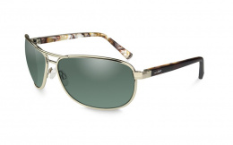 Okulary Wiley X KLEIN ACKLE06 Polarized Smoke Green Lens Frame Gunmetal Frame Gold Frame