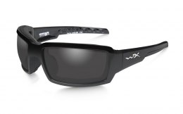 Okulary Wiley X TITAN CCTTN08 Polarized Smoke Grey Gloss Black Frame