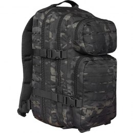 PLECAK SMALL ASSAULT PACK LASER CUT MULTITARN® BLACK