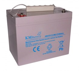 Akumulator KM Battery 80Ah 12V KM-EV12-80