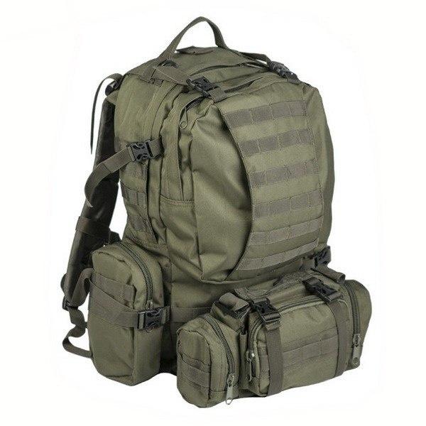 a0fcbb9a32ae7 Plecak taktyczny z ładownicami DEFENSE OLIVE - Mil-Tec