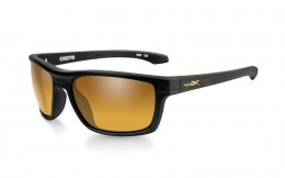 Okulary Wiley X KINGPIN ACKNP04 Polarized Amber Gold Mirror Matte Black Frame