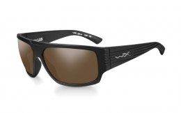 Okulary Wiley X VALLUS ACVLS04 Polarized Amber Matte Black Frame