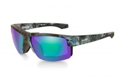Okulary Wiley X COMPASS CCCMP07 Polarized Emerald Mirror Kryptek Neptune Frame